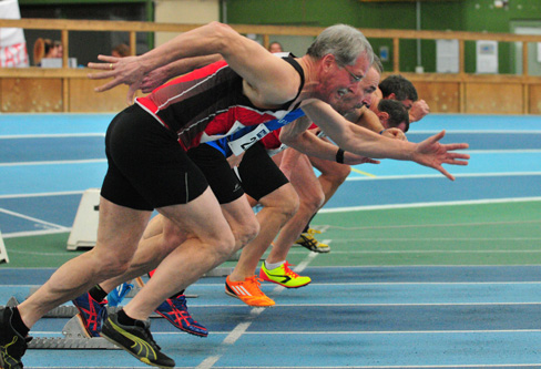 Leichtathletik-Senioren kämpfen im Glaspalast um Titel