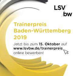 Trainerpreis Baden-Württemberg 2019