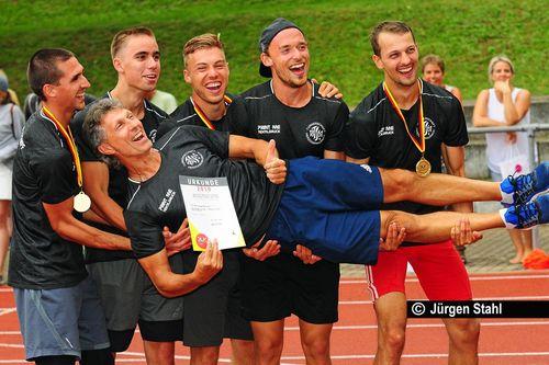 Deutsche Mehrkampfmeisterschaften Aktive / U23 am 10./11. August 2019 in Bietigheim-Bissingen