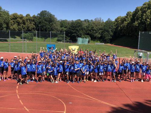 Über 200 Göppinger Kinder erfreuen sich an WLV Kinderleicht-Athletik VOR ORT