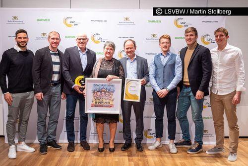 Ehrenpreis des Landessportverbandes Baden-Württemberg für die Leichtathletikabteilung des SSV Ulm 1846