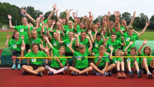 U14-Camps: Viel Bewegung, viel Spaß