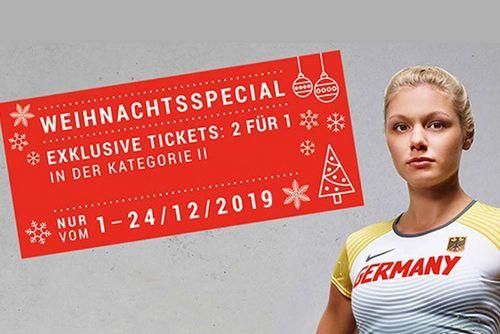 """Weihnachtsspecial """"2 für 1"""" für DM-Tickets in Braunschweig"""