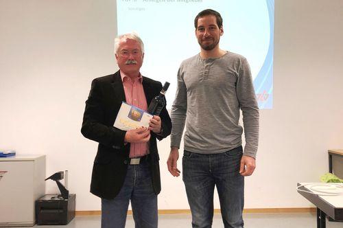 Oliver Krebs einstimmig als Jugendwart wiedergewählt