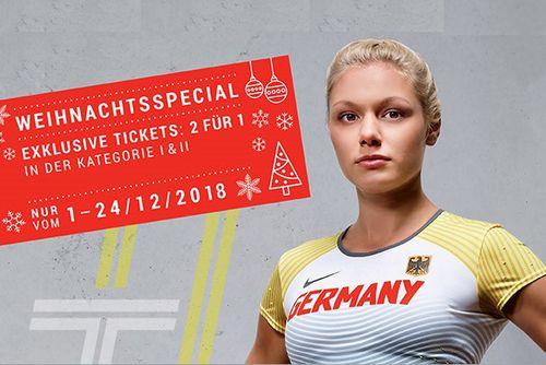 """DM 2019 in Berlin: Exklusives Weihnachtsspecial """"2 für 1"""""""