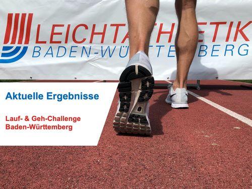 Ergebnisse Lauf- & Geh-Challenge Baden-Württemberg