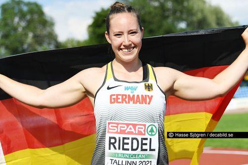 U23-EM Tag 3: Lea Riedel überrascht nach Riesensteigerung mit Kugelstoß-Silber