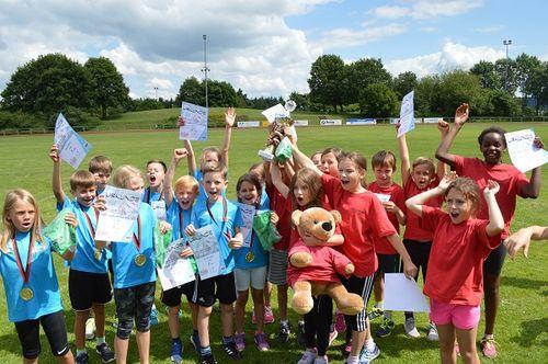 Der WLV Pokal Kinderleichtathletik rückt näher