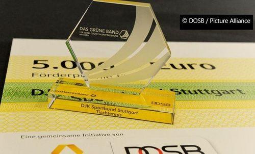 """Für das """"Grüne Band"""" 2019 bewerben und eine Förderprämie von 5.000 Euro gewinnen"""