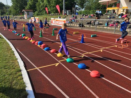 """""""WLV Kinderleicht-Athletik VOR ORT 2018"""" - Sowohl Indoor als auch Outdoor eine erfolgreiche Veranstaltung"""