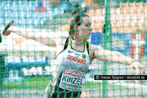 U23-EM Tag 2: Antonia Kinzel im Regen von Tallinn Sechste mit dem Diskus