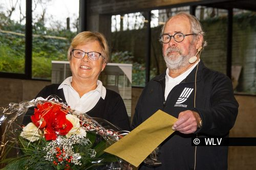 Inge Rieger mit dem Friedrich-Wilhelm-Heyden-Preis 2019 des WLV ausgezeichnet
