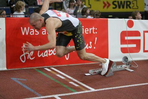 Deutscher Rekordhalter Tobias Unger beim WLV Kongress Senioren & Wettkampf
