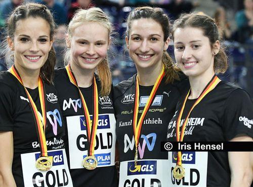 4x100 Meter-Staffeln starten bei DM in Berlin