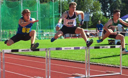 U16-Mehrkämpfer nutzen tolle Bedingungen