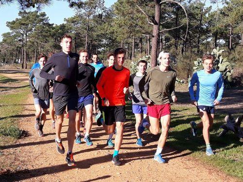 Läufer bereiten sich auf die Saison in Monte Gordo vor