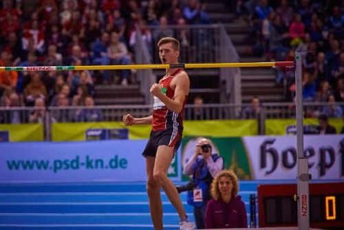 Hochsprung-Europameister Mateusz Przybylko kommt zum Indoor Meeting Karlsruhe