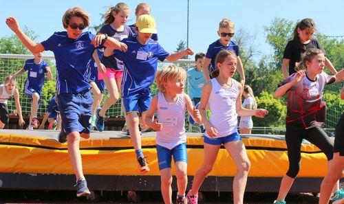 2. Minol-Kinderleichtathletikwettkampf der Stuttgarter Kickers