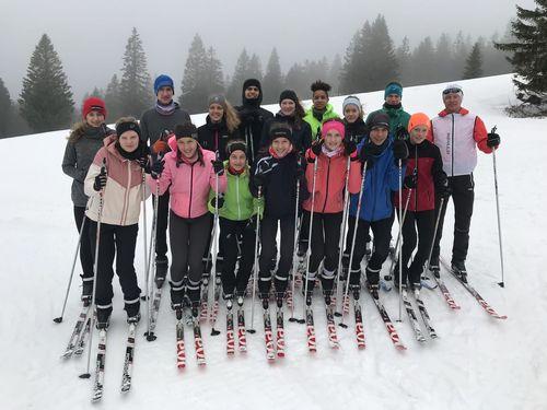 Skilanglauf-Lehrgang der Kaderläufer