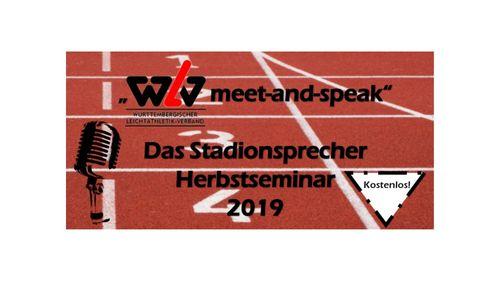 """""""WLV meet-and-speak"""" – das Stadionsprecher Herbstseminar 2019"""