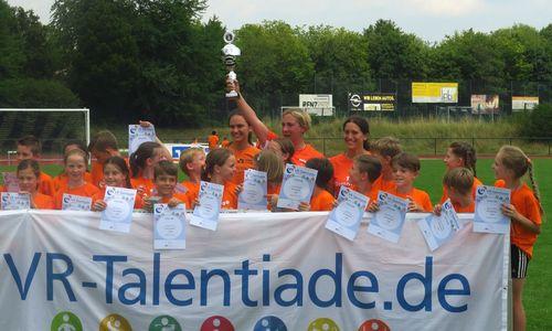 VR-Talentiade: Hattrick für Gomaringen