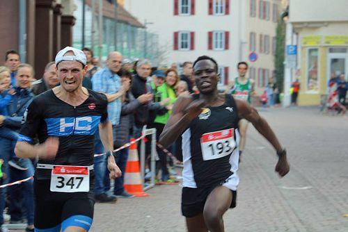 Oskar Klein und Nicole Möbus gewinnen den Hesselauf 2019