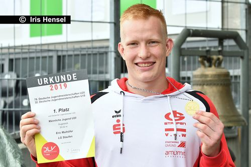 Ausblick auf die Deutschen Jugend-Hallenmeisterschaften mit Winterwurf
