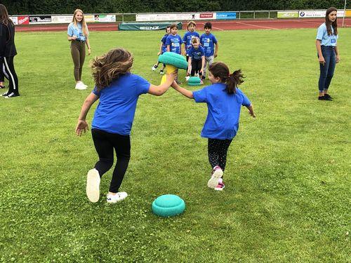 Tolle Stimmung trotz Regen bei WLV Kinderleicht-Athletik VOR ORT in Leutkirch