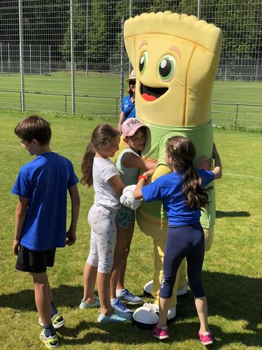Tolle Abschlussveranstaltung der WLV Kinderleicht-Athletik VOR ORT Tour in Neckarsulm