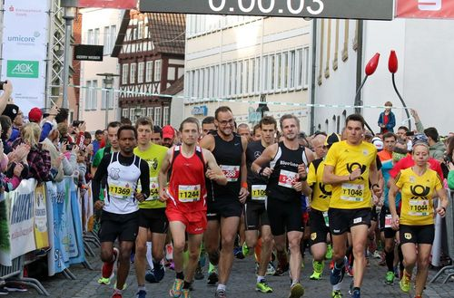Start-Ziel-Siege beim Sparkassen Alb Marathon in Schwäbisch Gmünd