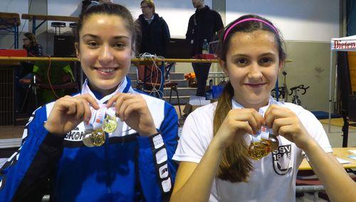 Bekannte Gesichter bei U16-Hallenmeisterschaften