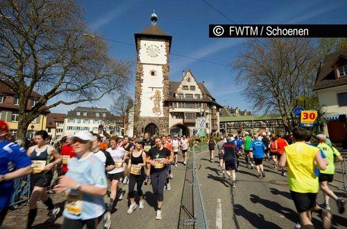 MEIN FREIBURG MARATHON eröffnet am 8. April die Laufsaison der großen Städtemarathons.