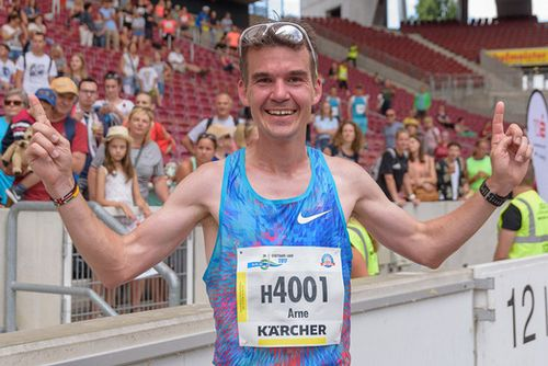 Marathon-Asse testen über 10 Kilometer in Bad Liebenzell
