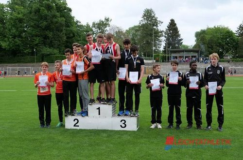 Baden-Württembergische Staffelmeisterschaften am 10. Mai 2018 in Konstanz