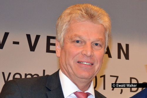 Jürgen Kessing zum DLV-Präsidenten wiedergewählt