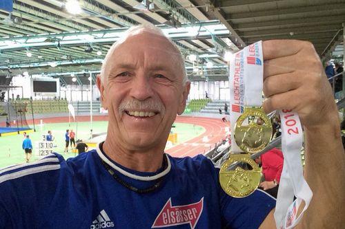 Baden-Württ. Senioren-Hallenmeisterschaften am 18.02.2018 in Sindelfingen