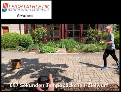 #bwlathome Wurf-Challenge – Highlights