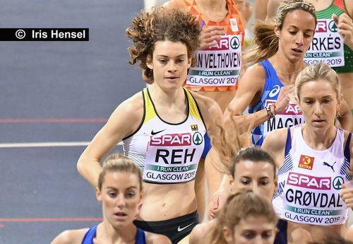 Alina Reh läuft Bestzeit über 5.000 Meter in Stockholm