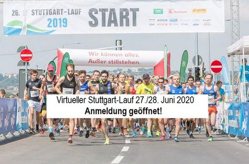 Anmeldung zum virtuellen Stuttgart-Lauf 2020!