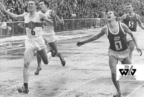 Highlights aus 70 Jahren WLV (Fotos: WLV-Archiv)