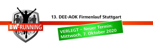 Verschiebung - DEE-AOK-Firmenlauf findet im Oktober statt