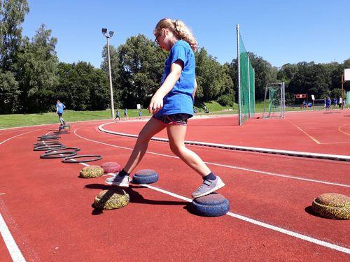 VfB Spieltags-Lauf mit Kinderleichtathletik-Station