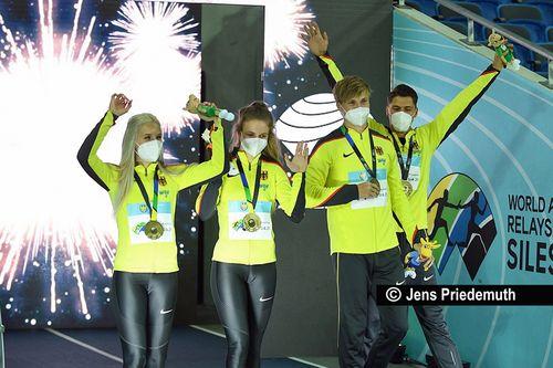 Staffel-WM-Titel und Olympia-Tickets