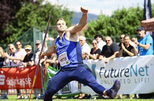 97,76 Meter! Johannes Vetter kratzt am Weltrekord
