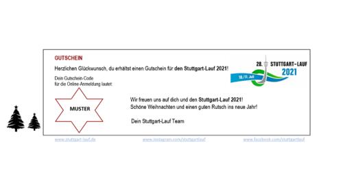 Gutschein für den Stuttgart-Lauf 2021 verfügbar