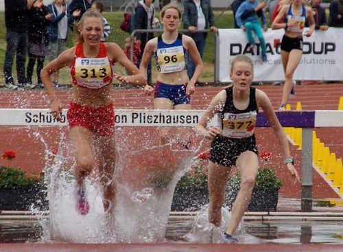 Baden-Württembergische Hindernismeisterschaften der Jugend am 13. Mai 2018 in Pliezhausen