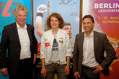 Pressekonferenz Deutsche Meisterschaften 10.000 Meter in Pliezhausen