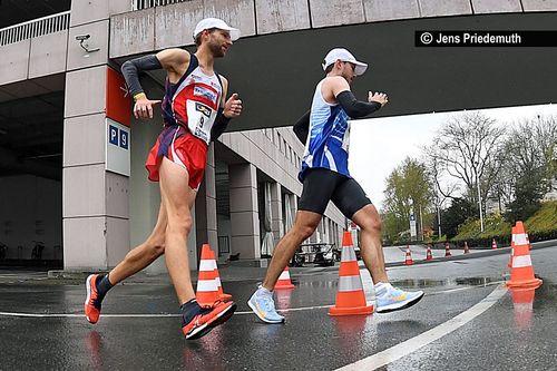 Deutsche Meisterschaften im Straßengehen am 10. April 2020 in Frankfurt