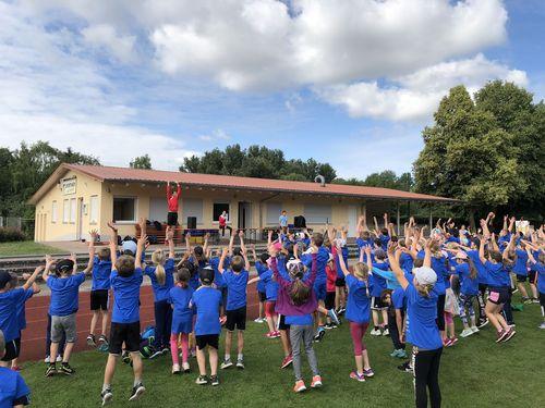 """WLV Kinderleicht-Athletik VOR ORT in Igersheim - """"Klein aber Fein"""""""