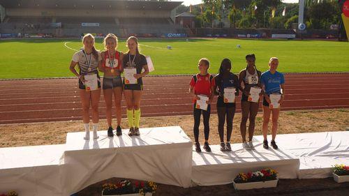 Fünf Titel am ersten Tag der U16-DM in Wattenscheid